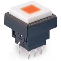 Pulsador Tact Switch cuadrado 12.5mm led