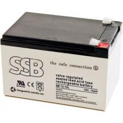 Bateria Plomo Gel recargable de 12v.12A