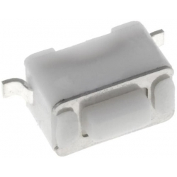 Tact Switch SMD 6x3.5x3.5mm Blanco 0.5mm