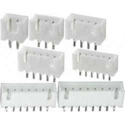 Conectores JST XH Recto paso 2.50mm