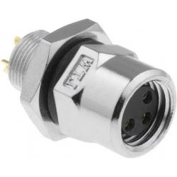 Conector M8 Amphenol IP67 3pin hembra