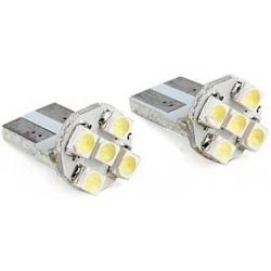 Bombilla LED T10 5 Led SMD 12v