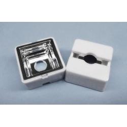 Reflector Lente de 25x25x13mm para Led Lumileds
