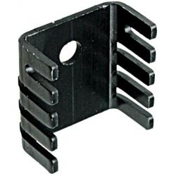 Disipador Térmico Aluminio en U 30x25x12.5mm