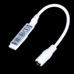 Slim Jack Controlador PWM para Tiras Led RGB 12v.