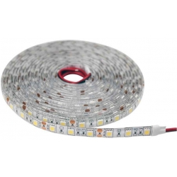 Tira Flexible Siliconadas IP65 24v. de 60 Led 5050
