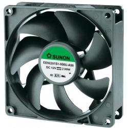 Ventilador refrigeración 12v. 92x92x25mm 34DB 92251