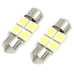 Festoon 4 LED 5050 SMD de 31mm