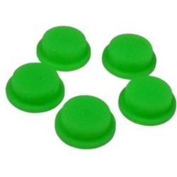 Boton de Goma 20x16x8mm Verde para Pulsadores/Interruptores