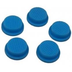 Boton de Goma 17x14x6mm Azul para Pulsadores/Interruptores