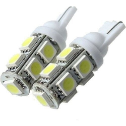 Bombilla LED T10 9 Led 5050 3 chip SMD 12v