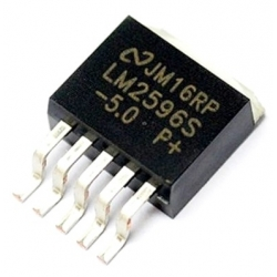 LM2596 NSC TO-263 smd regulador de Voltaje