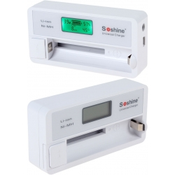 Cargador de Baterias de Litio/NiMh Soshine SC-S7