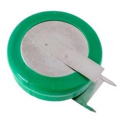 Batería NI-MH Recargable 1.2v. 320mA Boton con lengueta