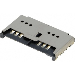 Conectores Doble SIM de memorias 115L 12 pin