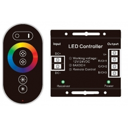 Dimmer Touch control para Led 12/24v.RGB