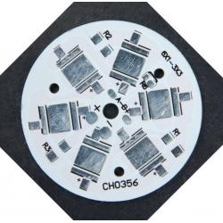 Circuitos Impresos (Alu-Pcb) para 6 Led CREE