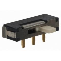 Micro interruptor deslizante acodado