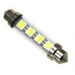 Festoon 4 LED 5050 de 42mm