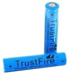Baterias Litio Protegida Trustfire 3.6v 1600mA-14650
