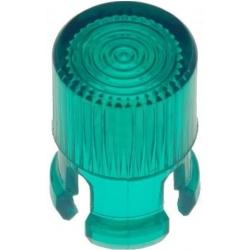 Embellecedores tubular para Led de 5mm verde
