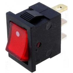 Interruptor Rocker Rectangular basculante 21x15x20mm