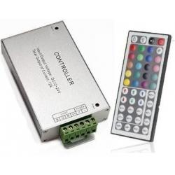 Conjunto Receptor Mando 44 teclas para RGB 12-24v.dc