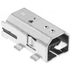 Conector Micro USB B-Macho SMD 4 pin
