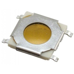 Pulsador Tact Switch SMD de 5.05x5.2mm extraplano