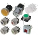 Interruptor o Pulsador Tact Switch luminoso