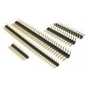Tira de postes (Pines) paso 1.27-2-2.54-5mm Recto-Acodado